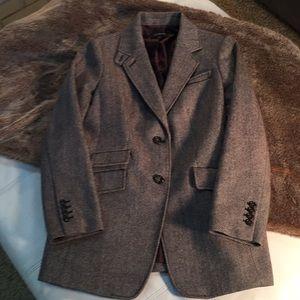 Beautiful Talbots herringbone coat/blazer